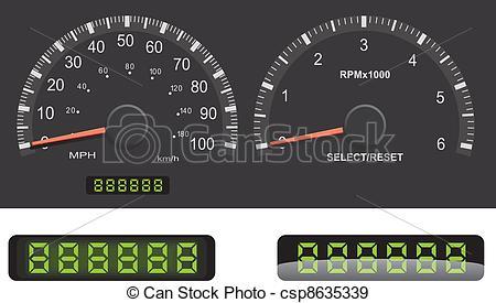 Mileage Clipart Vector Graphics. 310 Mileage EPS clip art vector.