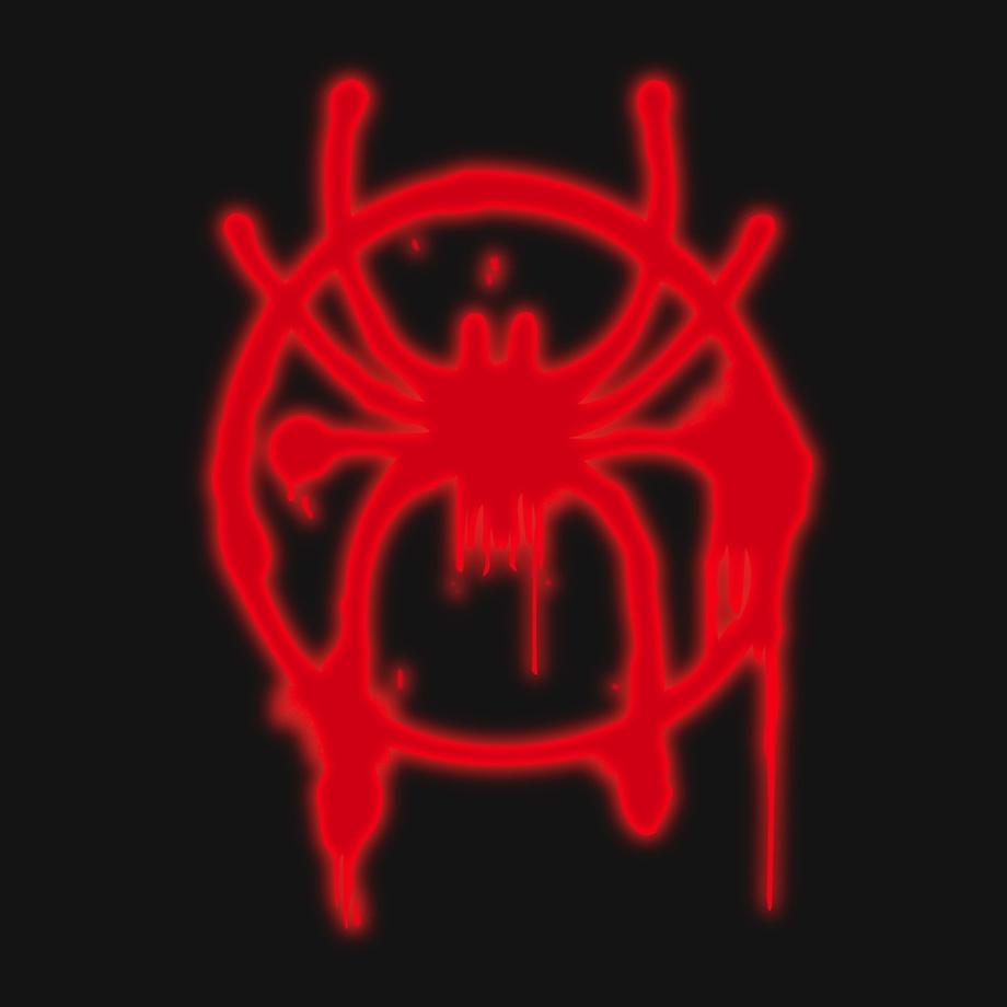 Miles Morales Logo Neon ! by Kazi Sakib.