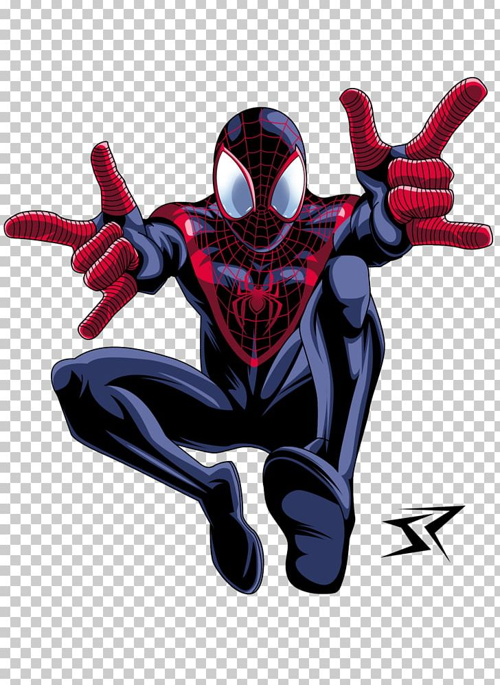 Miles Morales: The Ultimate Spider.