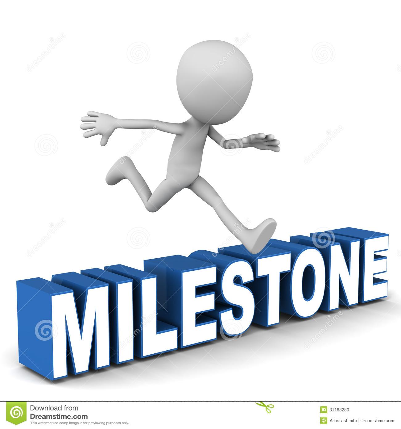Milestone Stock Illustrations.