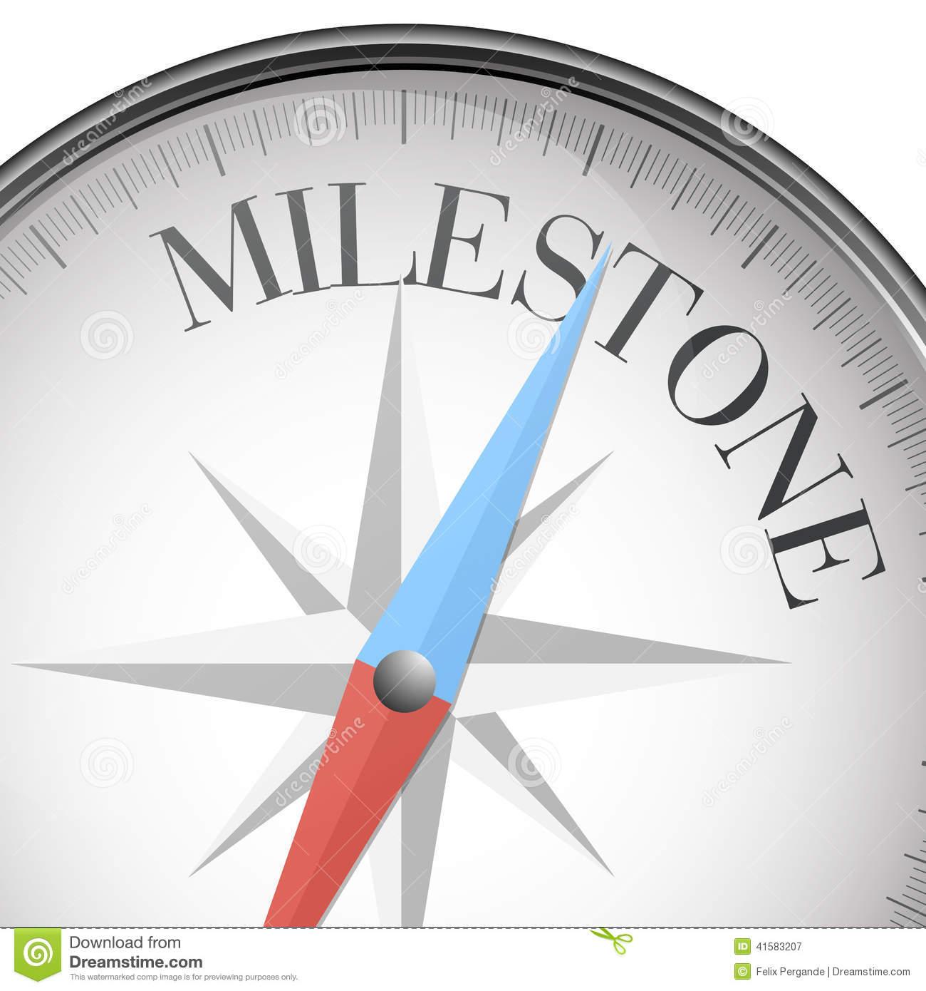 Milestone Clip Art.