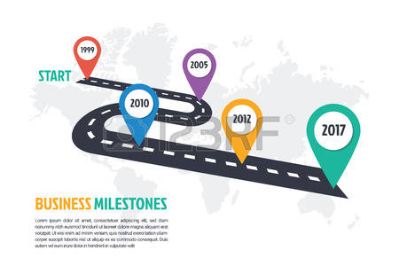 738 Milestones Stock Vector Illustration And Royalty Free.