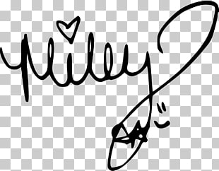 Miley Stewart Singer Celebrity Autograph, miley cyrus PNG.