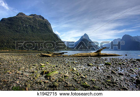 Stock Image of Milford Sound k1942715.