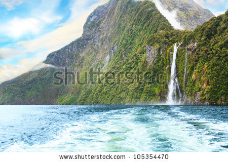 Milford Sound Stock Photos, Royalty.