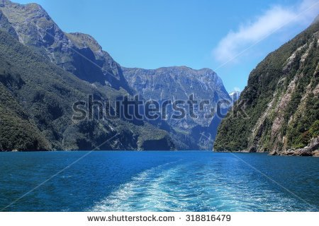 Milford Sound New Zealand Stock Photos, Royalty.