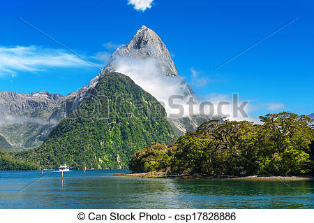 Pictures of Milford Sound.