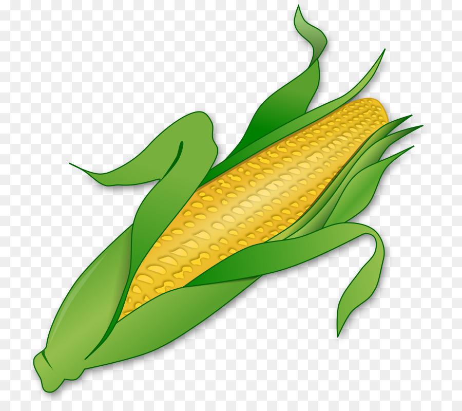 A espiga de milho Doce milho Milho milho Doce Clip.