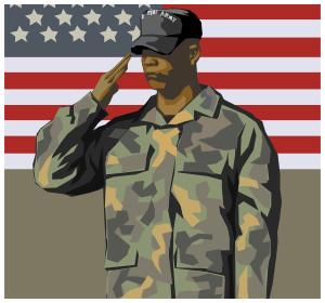 Us military clip art.