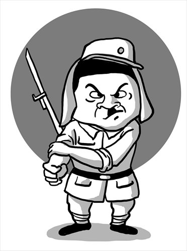 Japan steering dangerous course toward militarism.