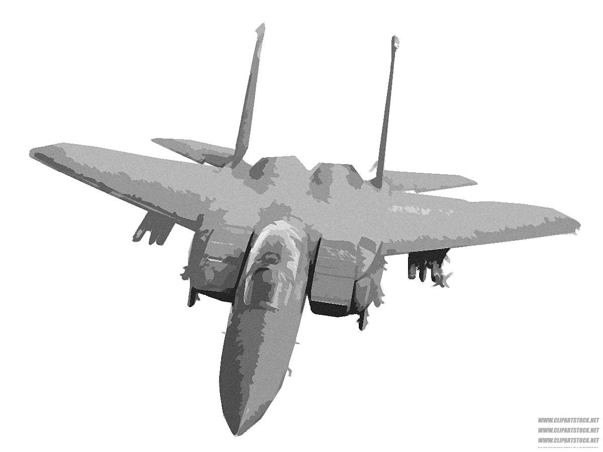 Military aircraft clipart - Clipground