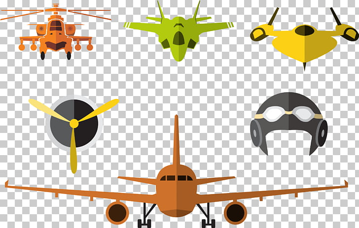 Airplane Aircraft , Military aircraft illustration PNG.