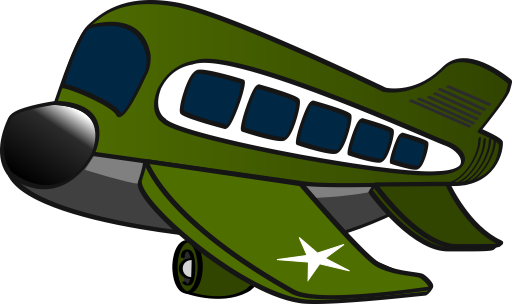 Military Plane Clipart.