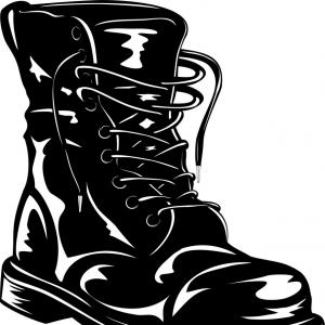 Military Boots Vector at GetDrawings.com.