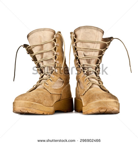 Combat Boots Stock Photos, Royalty.