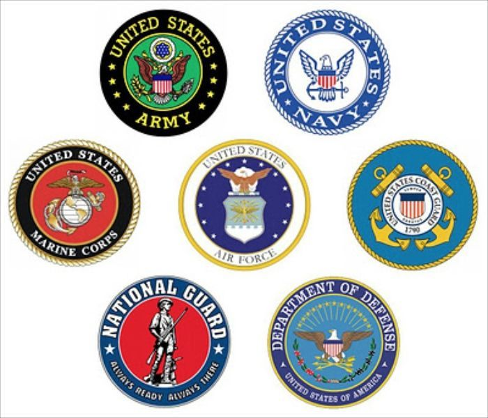 United States Military Branch Logo.