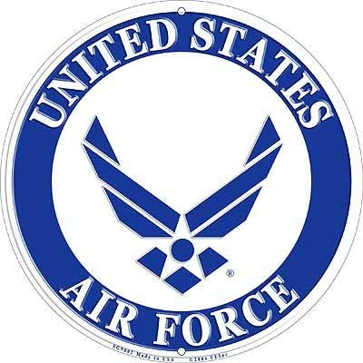 Lpsusa USAF Military Logo Aluminum Sign.