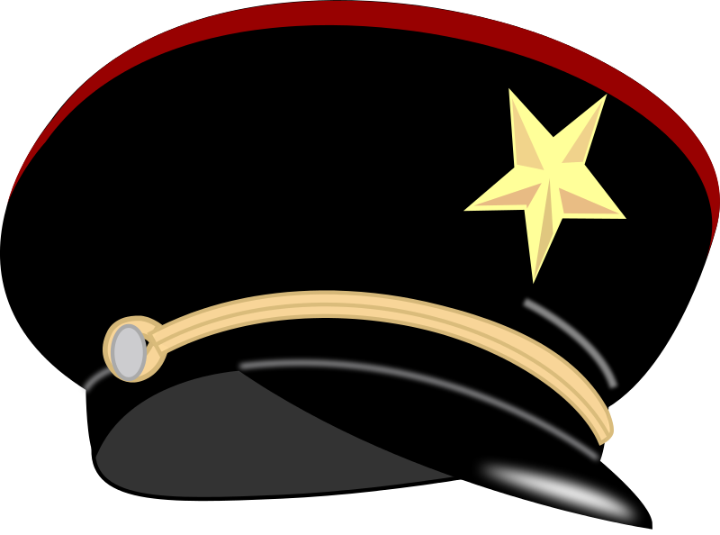 Military Hat Clipart.