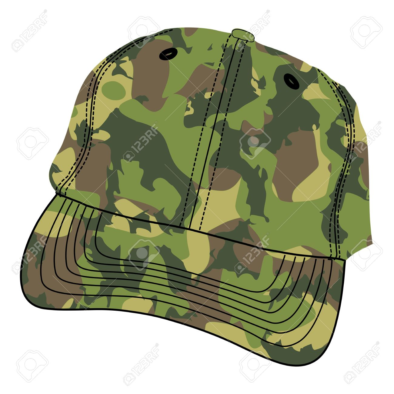 Army hat clipart.