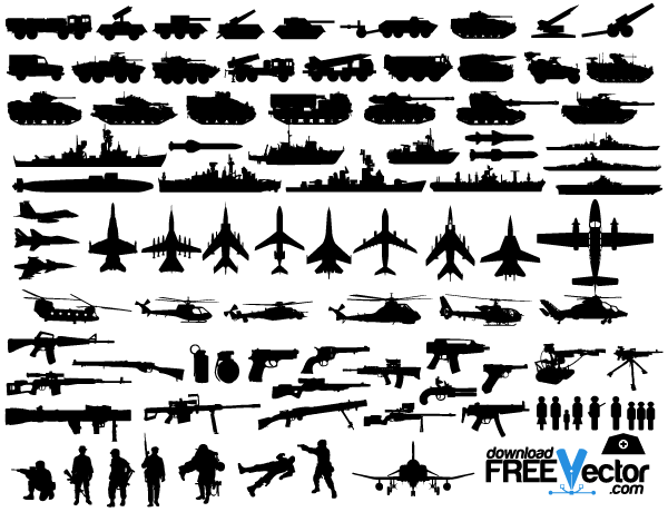 Military Vector Clip Art.