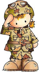 Military Clip Art Happy New Year.