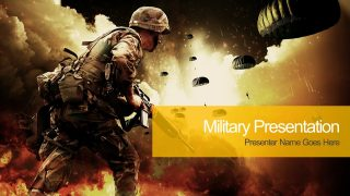 Military PowerPoint Template.