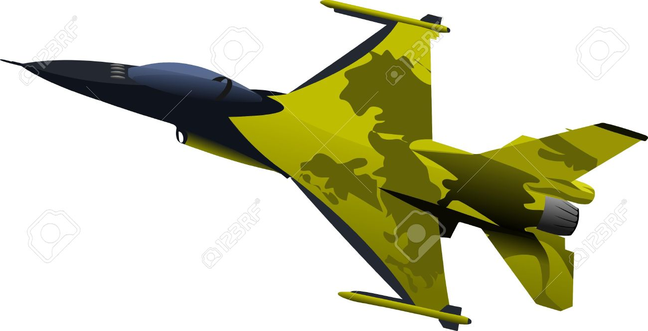 Air force jet clipart.