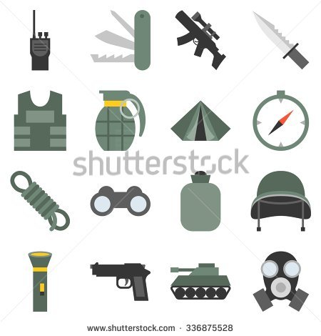 Military Equipment Stock Images, Royalty.