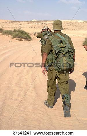Stock Photography of Israeli Army military exercise k7541241.