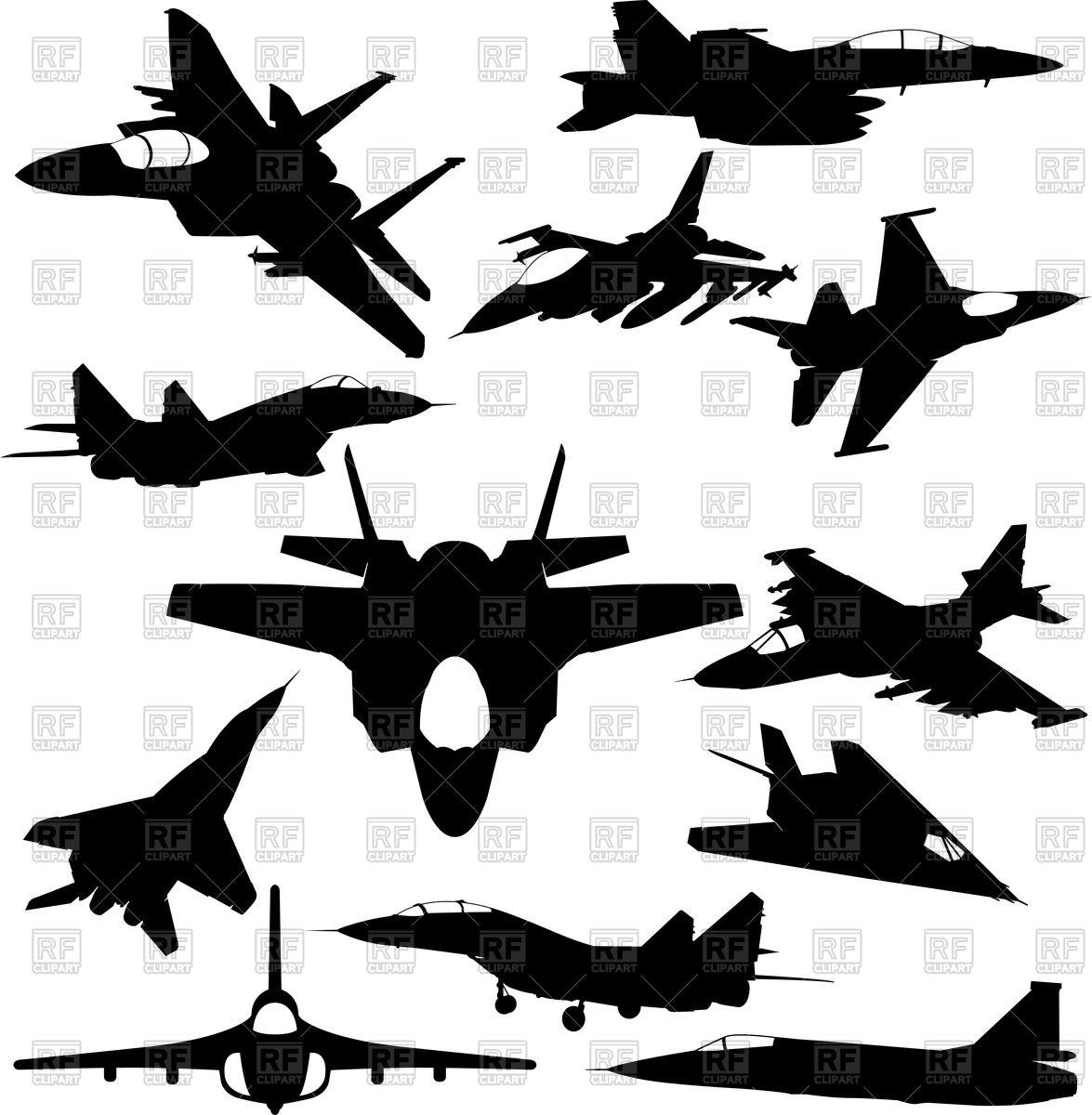 Military jet.