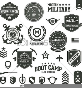Military Graphics Clipart.