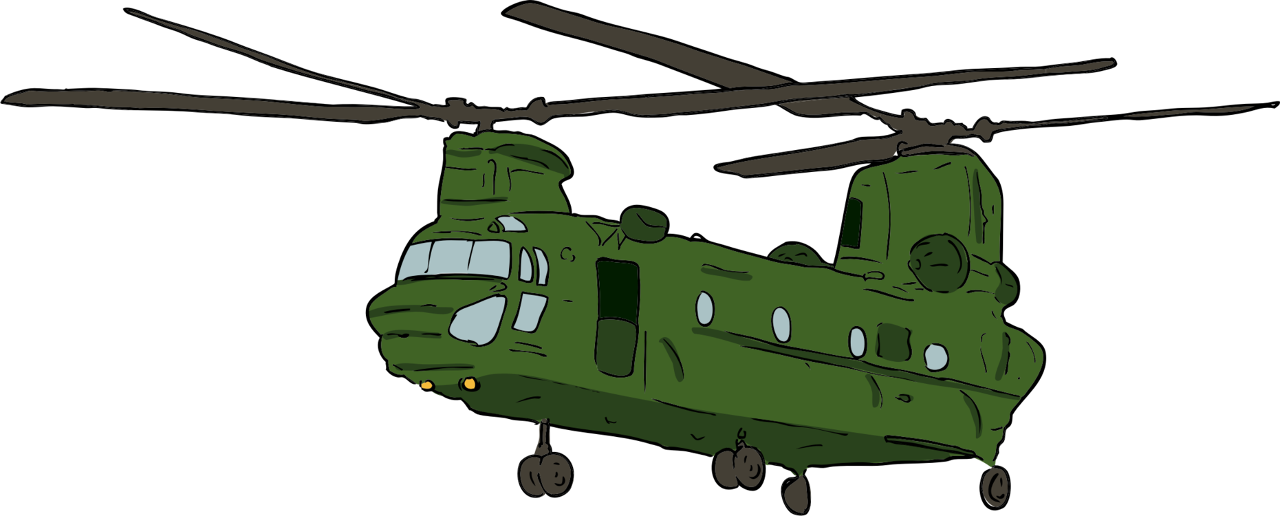 Helicopter Rotor,Rotorcraft,Military Helicopter Clipart.