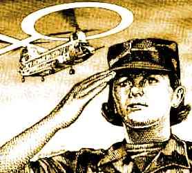 Military Women Clipart.