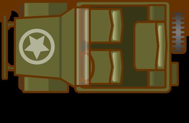 Free Military Jeep Clip Art.