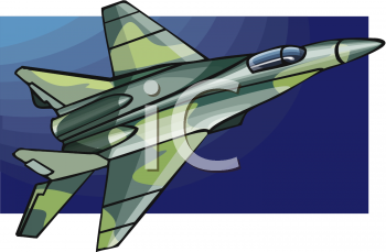 Military Jet Clipart.