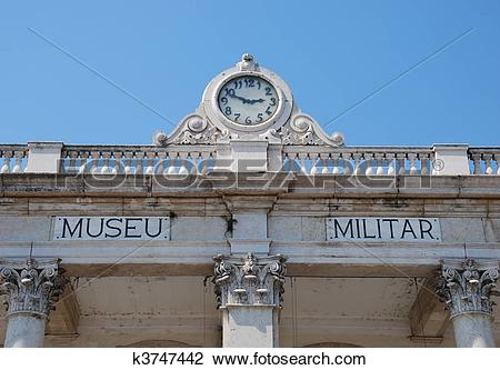 Stock Photo of Military museum in Lisbon k3747442.