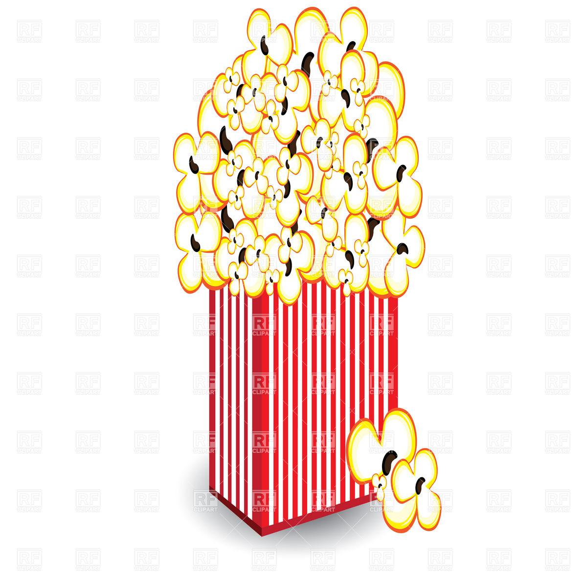 Popcorn Clip Art Free.