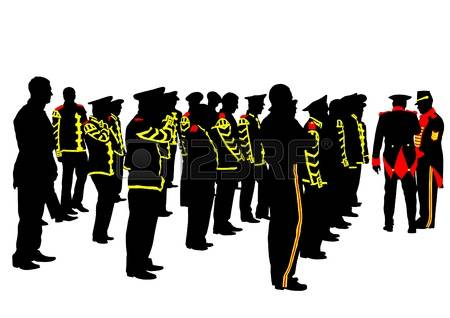 690 Military Parade Stock Vector Illustration And Royalty Free.