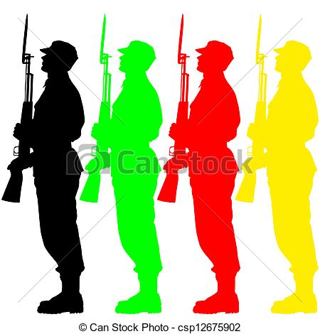 Military parade Clipart Vector Graphics. 348 Military parade EPS.