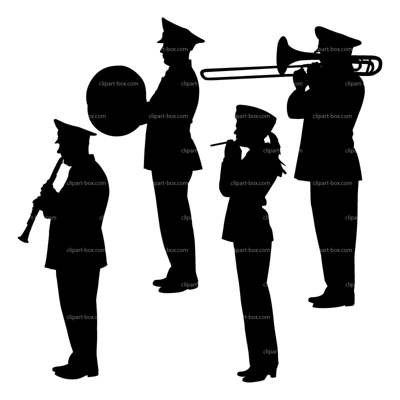 CLIPART MILITARY ORCHESTRA.