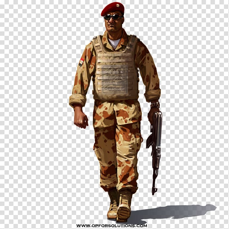 Iraq Soldier Military uniform Army Combat Uniform, military.