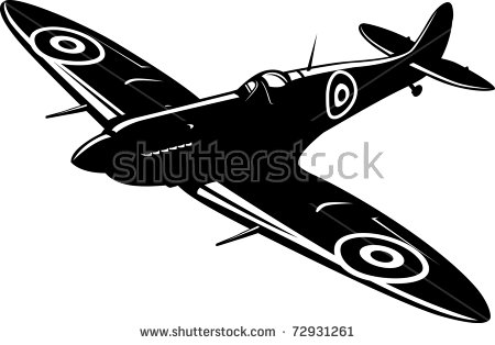 Fighter Plane Stock Images, Royalty.