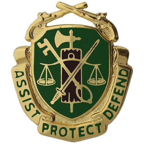 Army Military Police Regimental Corps Crest.