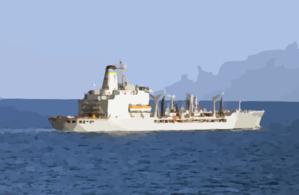 The Military Sealift Command Ship Usns Leroy Grumman (t.
