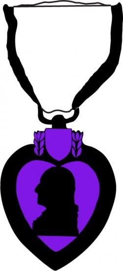 Military Purple Heart Clipart.