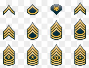 Military Rank United States Army Enliste #112809.