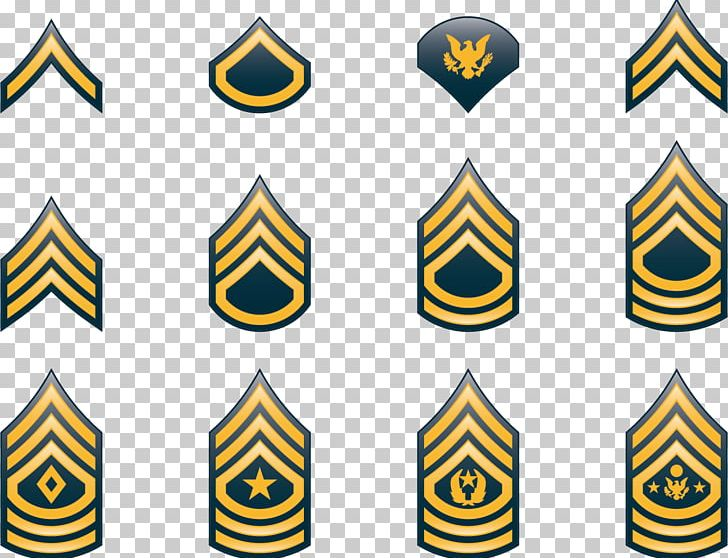 Military Rank United States Army Enlisted Rank Insignia.