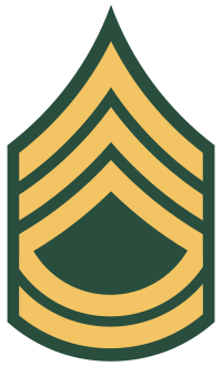 Army Sergeant First Class.