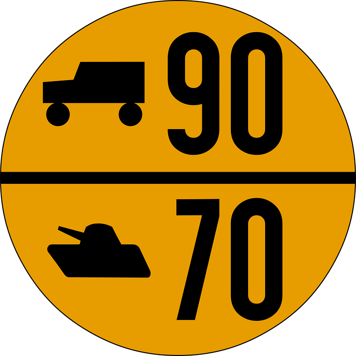 Free vector graphic: Military, Road Sign, Traffic.