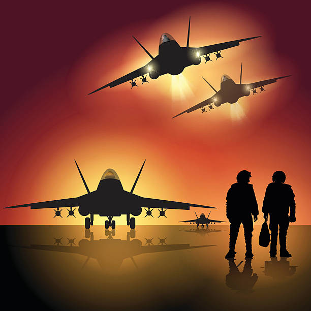 Military Runway Clip Art, Vector Images & Illustrations.